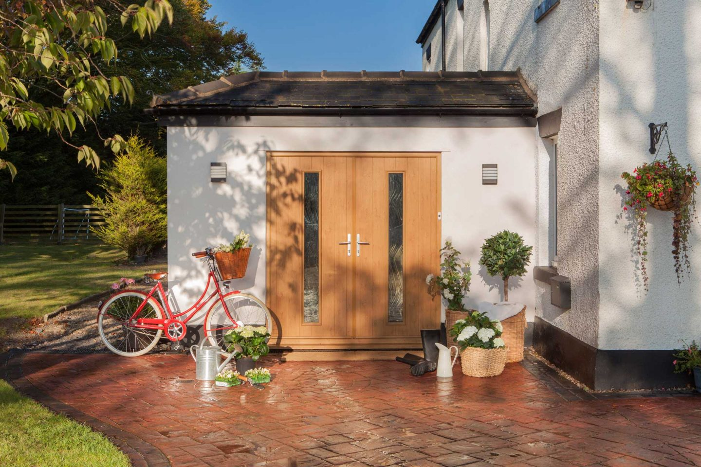Solidor front doors Cardiff